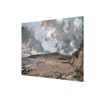 Weymouth Bay with Jordan Hill, c.1816 (oil on canv Canvas Print