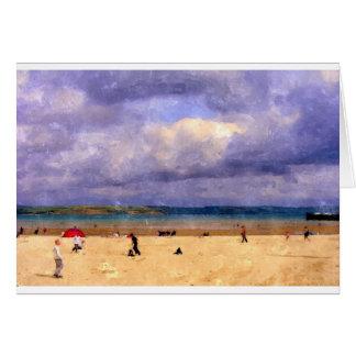 Weymouth Beach Card