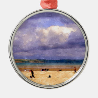 Weymouth Beach Christmas Ornament