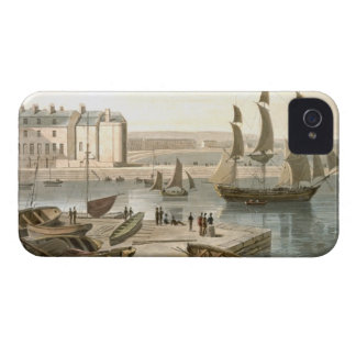 Weymouth Harbour, from 'A Voyage Around Great Brit Case-Mate iPhone 4 Cases