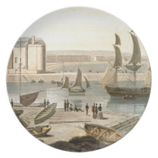 Weymouth Harbour, from 'A Voyage Around Great Brit Plate