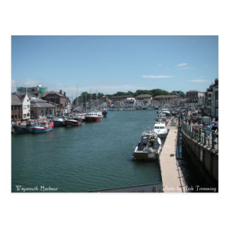 Weymouth Harbour Postcard