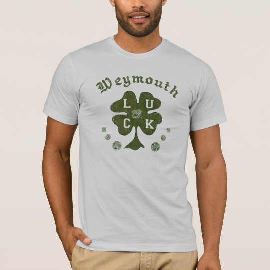 Weymouth Massachusetts Irish T-Shirt