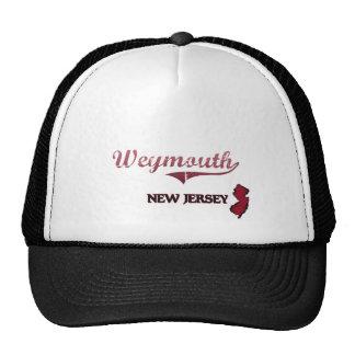 Weymouth New Jersey City Classic Trucker Hats