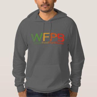 WFPB logo - Hooded Sweatshirt grey