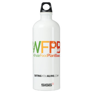 WFPB logo - water bottle (1.0L), White SIGG Traveller 1.0L Water Bottle