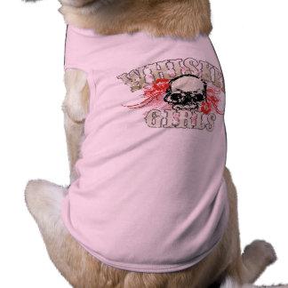 WG Flower Skull Pup Shirt