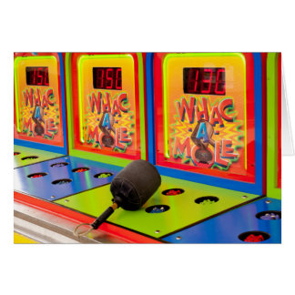 Whac A Mole Card