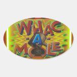 Whack a Mole Sticker
