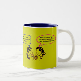 Whack A Snitch Twisted Humor Mug