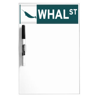 Whal Street Dry Erase Board
