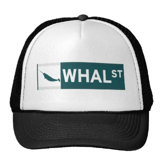 Whal Street Hats