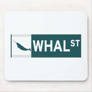 Whal Street Mousepads