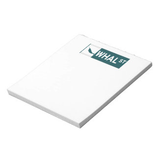 Whal Street Note Pads