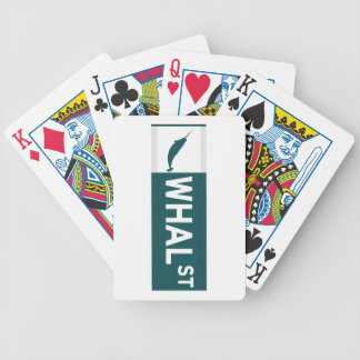 Whal Street Poker Deck