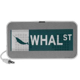 Whal Street Notebook Speakers