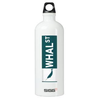 Whal Street Water Bottle