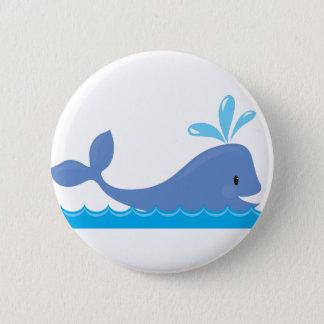 Whale 6 Cm Round Badge