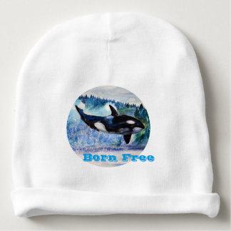Whale Baby Cotton Beanie Baby Beanie