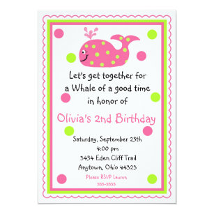 Lets get together invitations announcements zazzle uk whale birthday invitations stopboris Gallery