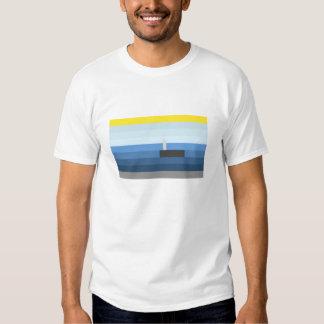 whale block tee shirt