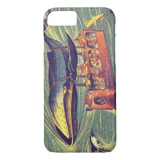 Whale Bus Futuristic Cell Phone Case