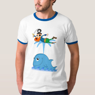 Whale & captain redbeard T-Shirt