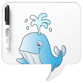 whale cartoon Dry-Erase boards