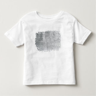Whale Chart of the North Pacific, 1851 Toddler T-Shirt
