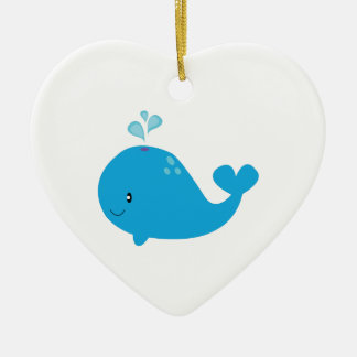 Whale Christmas Ornament