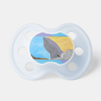 Whale, Fish, and the Elements Baby Pacifiers