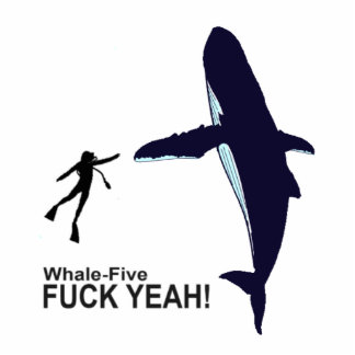 Whale-Five Acrylic Cut Outs