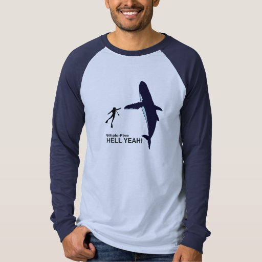 Whale-Five. T-shirts