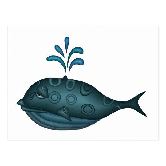 Whale Gift Postcard