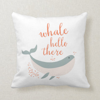 Whale Hello Cushion