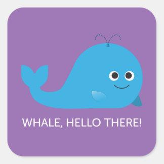 Whale, Hello There! Sticker