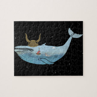 Whale illustration jigsaw puzzle