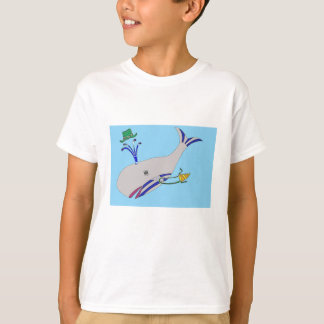 Whale Image On Childs T-Shirt