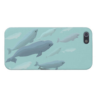 Whale iPhone 5 Case Beluga Whale Gifts