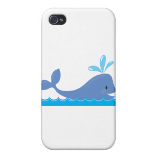 Whale iPhone 4/4S Cases