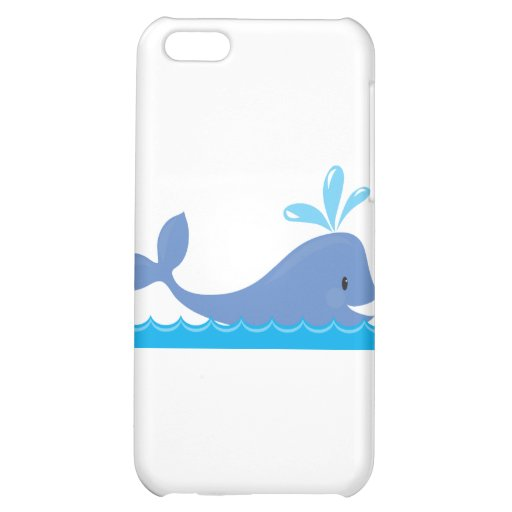 Whale iPhone 5C Cases