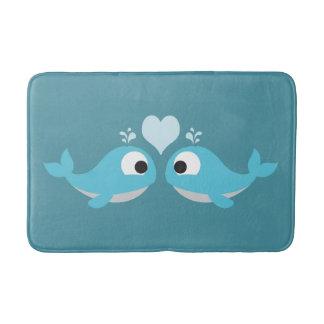 Whale Love Bath Mat