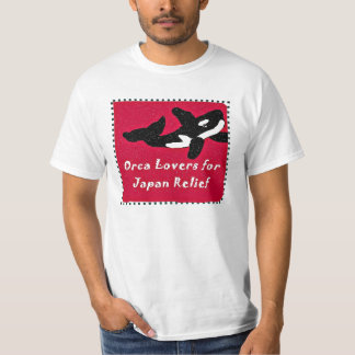 Whale Lovers Japan Relief T shirt