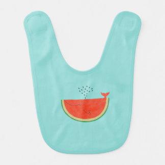 Whale-melon Bib