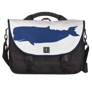 Whale Navy Laptop Commuter Bag