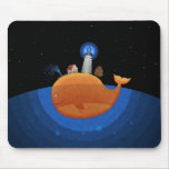Whale (Night) Mouse Mat