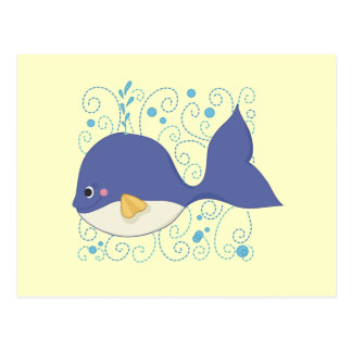 Whale of a Tail T-shirts and Gifts Postcard