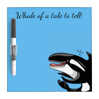 Whale of a Tale Dry Erase Board