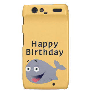 Whale of a Time - Happy Birthday Droid RAZR Cover