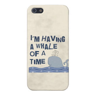 Whale of a Time iPhone 5/5S Cases